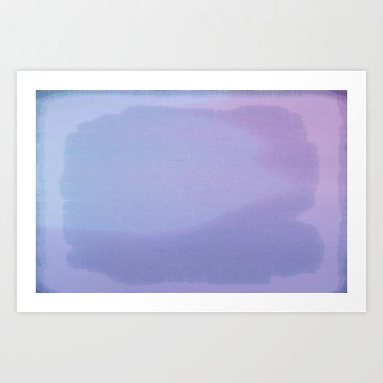 A Cloudscape Art Print