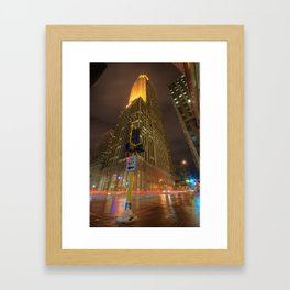 One way to Live Framed Art Print