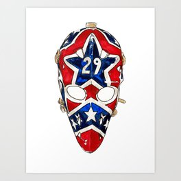 Palmateer - Mask 1 Art Print