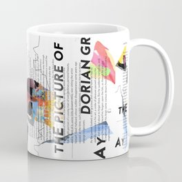 The Picture of Dorian Gray PSTR collage Coffee Mug