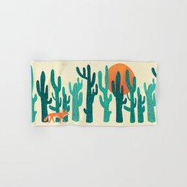 Desert fox Hand & Bath Towel