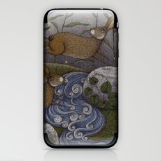 Swamp Rabbit's Reedy River Race iPhone & iPod Skin