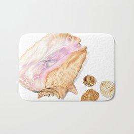 Seashells 01 Bath Mat