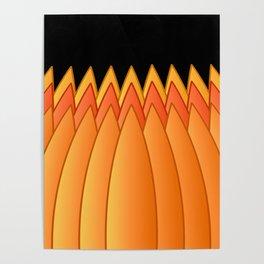 Pumpkin Crown Poster