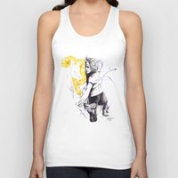 climbing Tank Tops featuring Climbing questions by Introppia