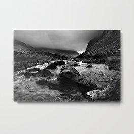 Capel Curig, Snowdonia, Wales. Metal Print