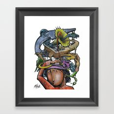 Crazy 4 Music - Mr.Klevra Framed Art Print