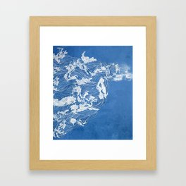 Thief of the waves Framed Art Print