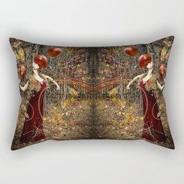 Chanson de L'Automne Rectangular Pillow