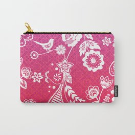 Birds, Flowers, etc. Carry-All Pouch