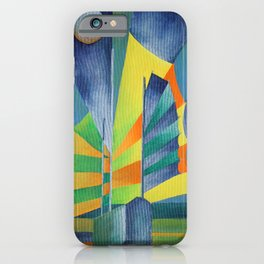 Junk By The Light Of The Silvery Moon iPhone Case