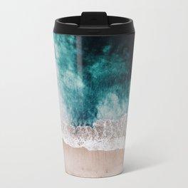 Ocean (Drone Photography) Metal Travel Mug