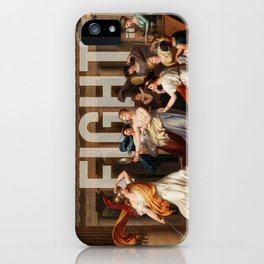 Fight. iPhone Case