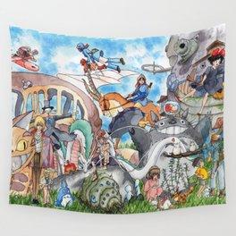 Miyazaki Tribute Wall Tapestry