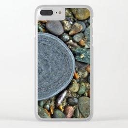 Beach Geology Clear iPhone Case