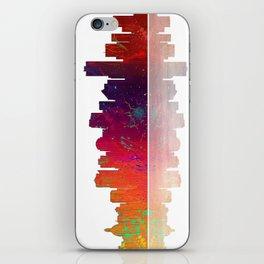 Skyline Edmonton 1 iPhone Skin
