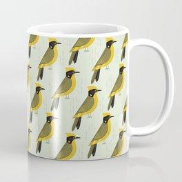 Helmeted Honeyeater | Pattern Coffee Mug