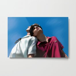 Call Me By Your Name Metal Print