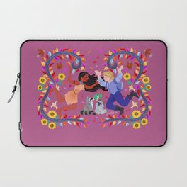Wind's colors wallpainting Laptop Sleeve