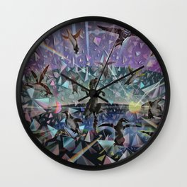Break Out Wall Clock