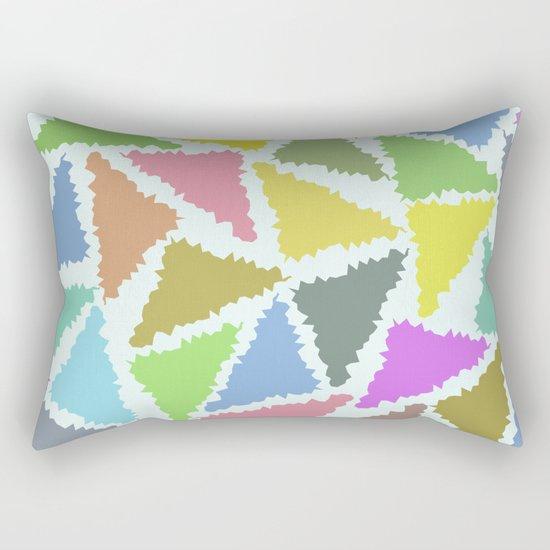 Geometric Pattern II Rectangular Pillow