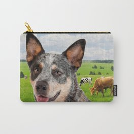 Australian Cattle Dog Blue Carry-All Pouch