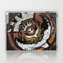 The Holy Dove & Crown Of Thorns Laptop & iPad Skin