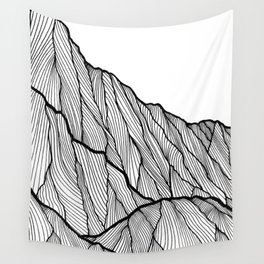 Rock lines Wall Tapestry