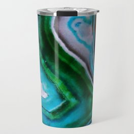 Color Burst Rings Travel Mug