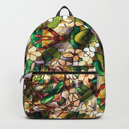Flower Forest Abstract Backpack