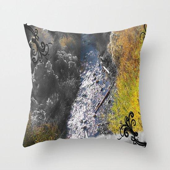 PAYSON RIVER Throw Pillow