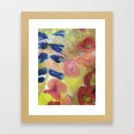 Cottage garden Framed Art Print