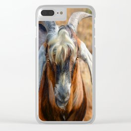 Billy Goat Clear iPhone Case