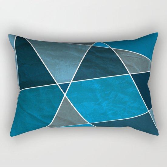 Abstract #332 Rectangular Pillow