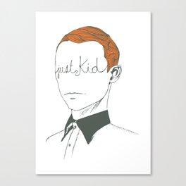 JUST KID Canvas Print