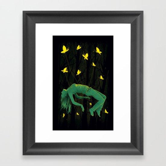 In Deep Sleep Framed Art Print