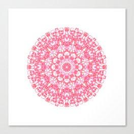 Mandala 12 / 1 eden spirit ruby red Canvas Print