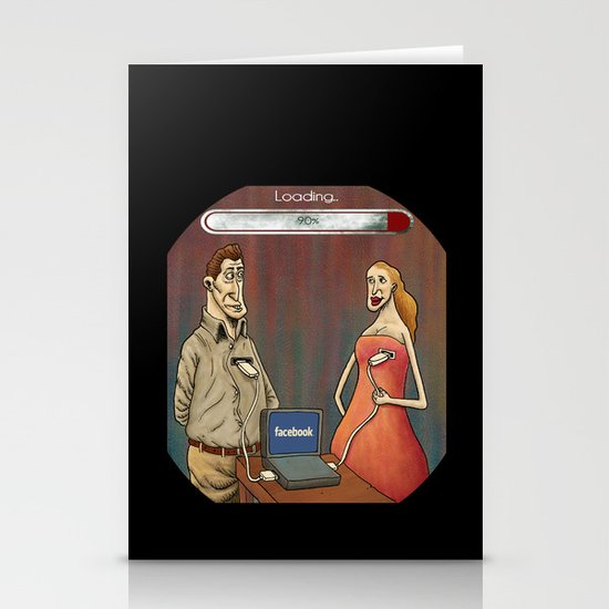 Postmodern Love Stationery Cards