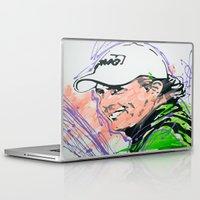 phil jones Laptop & iPad Skins featuring Phil (Golf Legend) by CjosephART