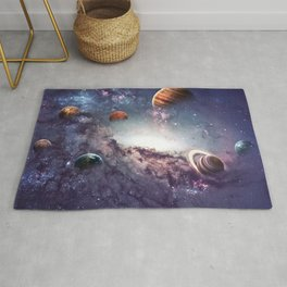 planets of the solar system galaxy Rug