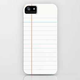 ideas start here 001 iPhone Case