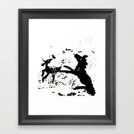 Spring Rain Framed Art Print