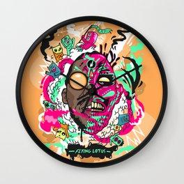 Flying Lotus Wall Clock