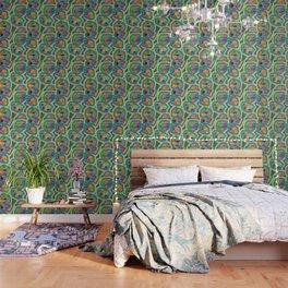 Jewel Nests Pattern Wallpaper