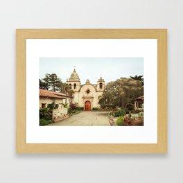 Carmel Mission Framed Art Print