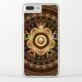 Gathering the Five Fractal Colors of Magic Clear iPhone Case