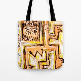 Avec et a Travers by Johnny Otto Tote Bag