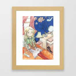 Luna Lovegood Framed Art Print