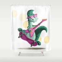 denver Shower Curtains featuring Denver  by CookiesOChocola
