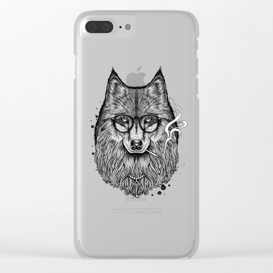Winya No. 24 Clear iPhone Case